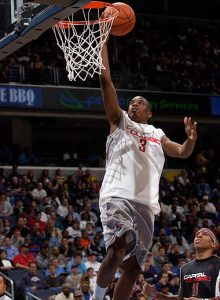 Basketball, Men, High School Chris Paul plays in the Jordan Capital Classic at the MCI Center in Washington DC. April 17, 2003 Greg Fiume/NewSport